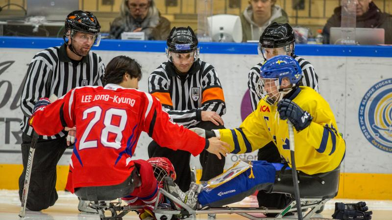 South Korea struck gold on Saturday (21 March) at the IPC Ice Sledge Hockey World Championships B-Pool by beating Sweden, 4-2