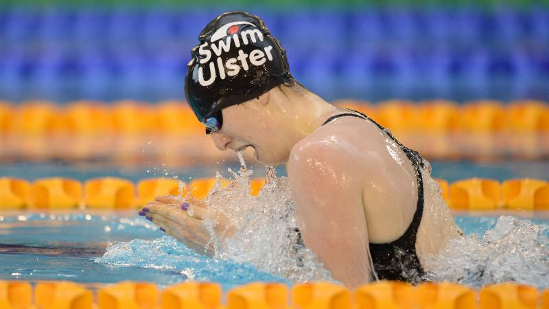 Great Britain's Bethany Firth set the 100m breaststroke SB14 world record