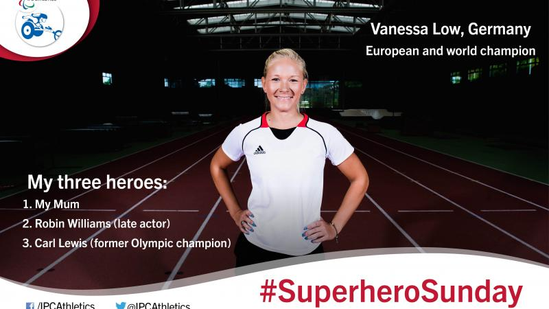 European and world champion, Vanessa Low, gives an insight into her three heroes.