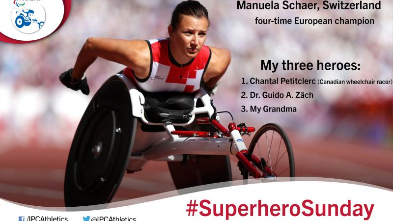 Switzerland's four-time European champion Manuela Schaer, gives an insight into her three heroes.