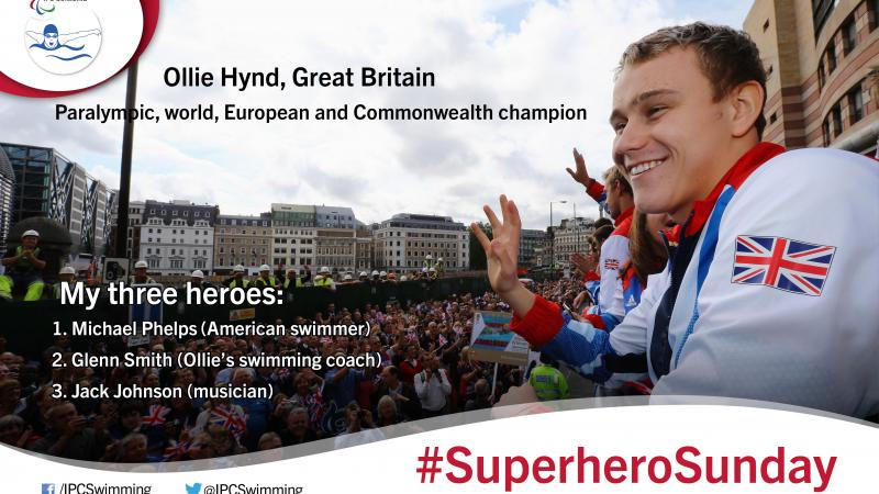 Great Britain's Paralympic, world, European and Commonwealth champion Ollie Hynd gives an insight into his three heroes.