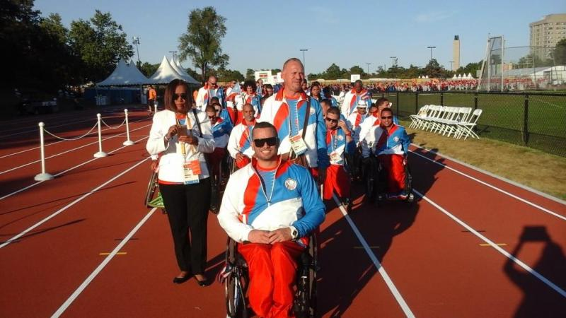 Following a national qualification event,28 athletes have travelled to Toronto, Canada, for the 2015 Parapan Am Games.