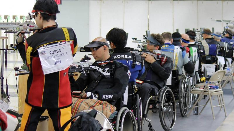 IPC Shooting World Cup in Fort Benning