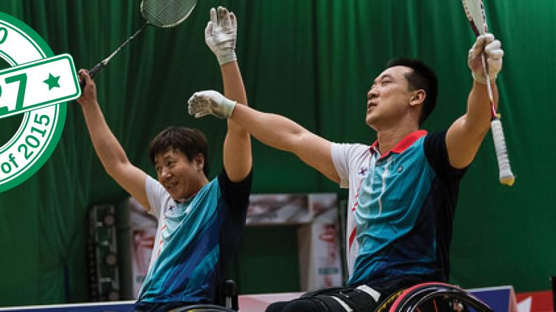 Top 50 moments 2015 - No. 27 Badminton joins Paralympic programme
