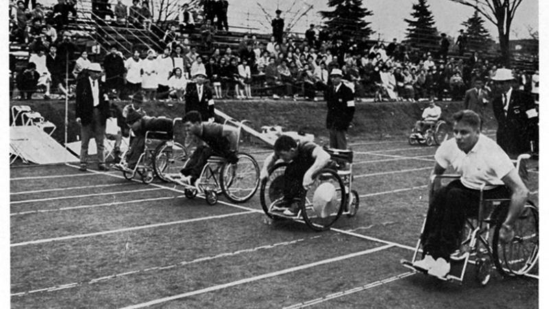 Athletics at the Tokyo 1964 Paralympic Games.