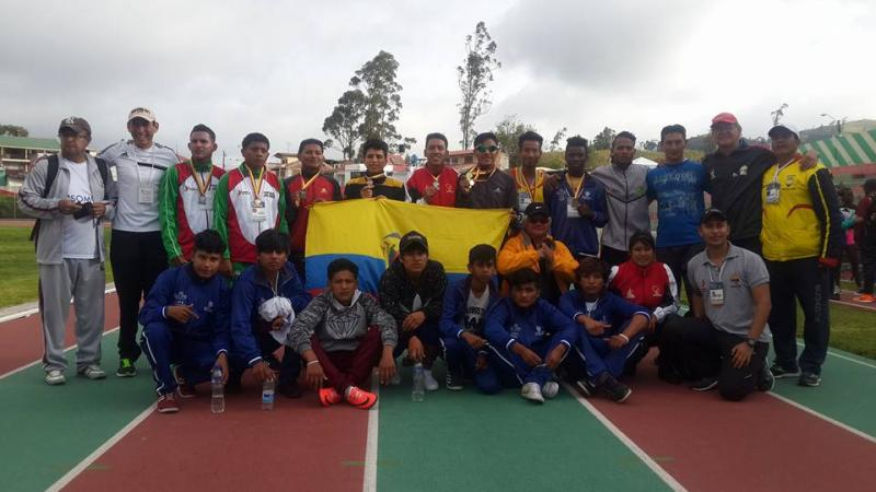 Ecuador's Para athletes competed at their national championships.