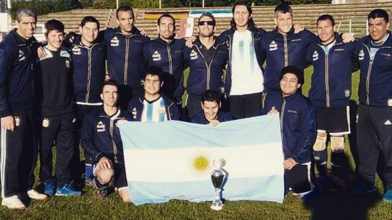 Argentinian football 5-a-side team