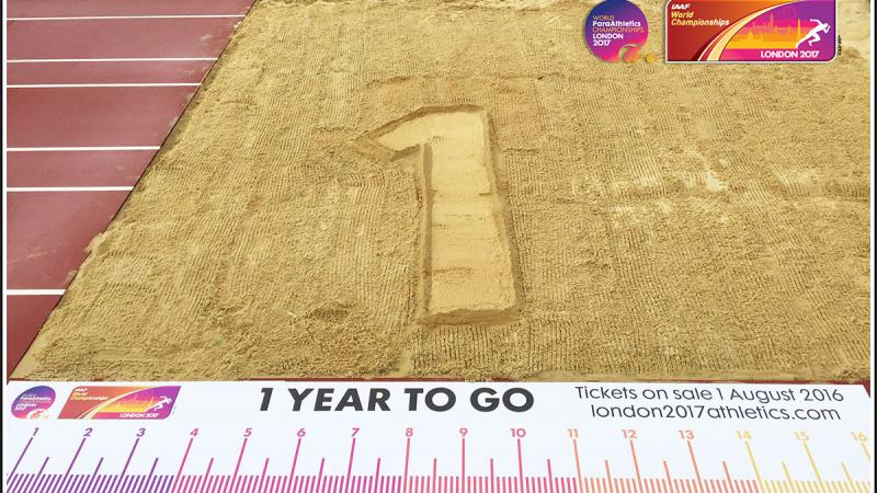 It's #1YeartoGo until the start of the World Para Athletics Championships in London, UK.