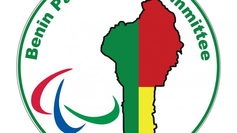 Logo of the Benin Paralympic Committee.