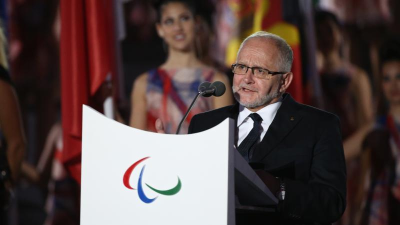 Sir Philip Craven - Rio 2016 Opening Ceremony