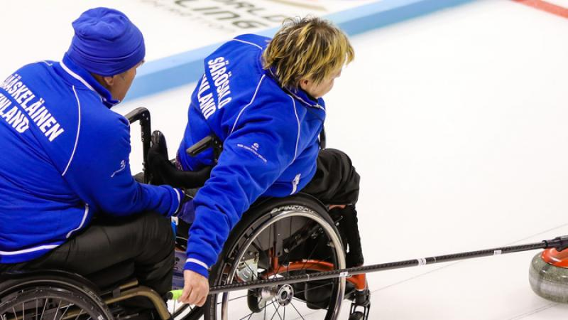 Finland defeated Scotland to capture the World Wheelchair-B Curling Championship 2016 title.