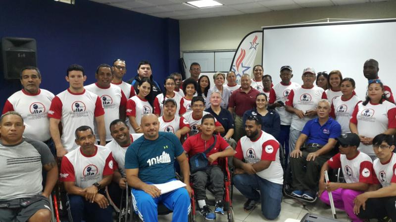 Para sport education programmes held in the Americas