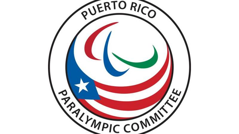 Paralympic Committee of Puerto Rico - logo for stories