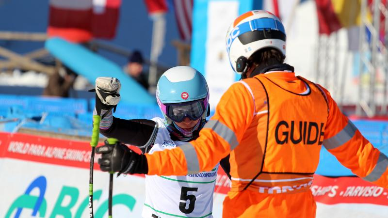Visually impaired skiers needed for research at the Tarvisio 2017 World Para Alpine Skiing Championships