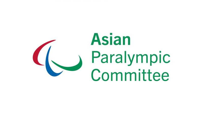 The official logo of the Asian Paralympic Committee