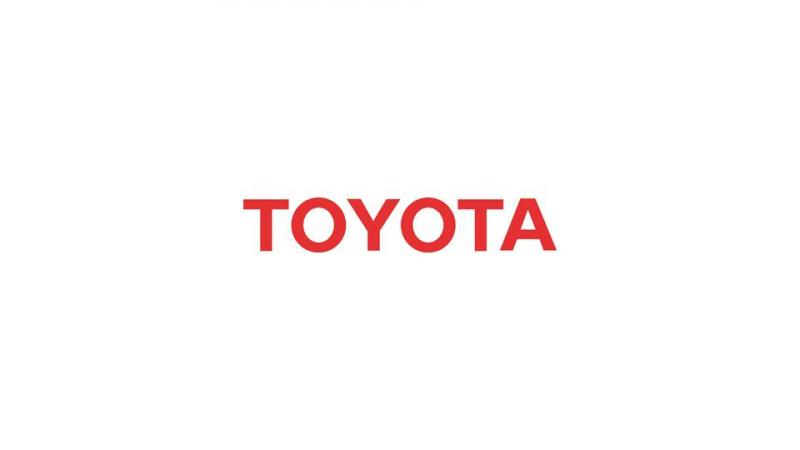 The official logo for Toyota