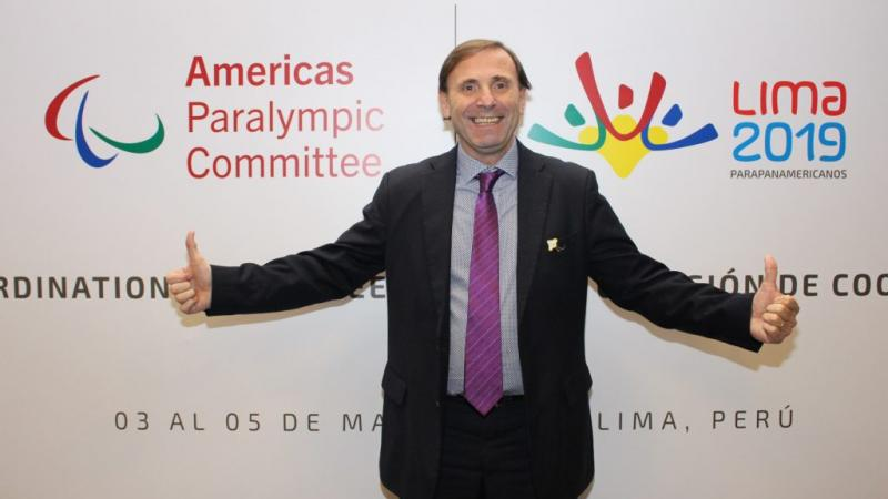 Jose Luis Campo was the driving force behind the growth of the Paralympic Movement in the Americas.