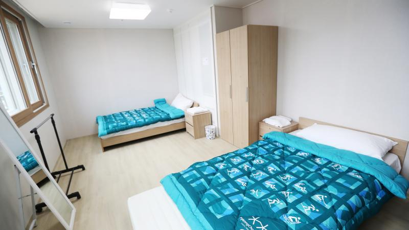 The PyeongChang 2018 Paralympic Village will house upto 2,268 personnel during the Winter Games.