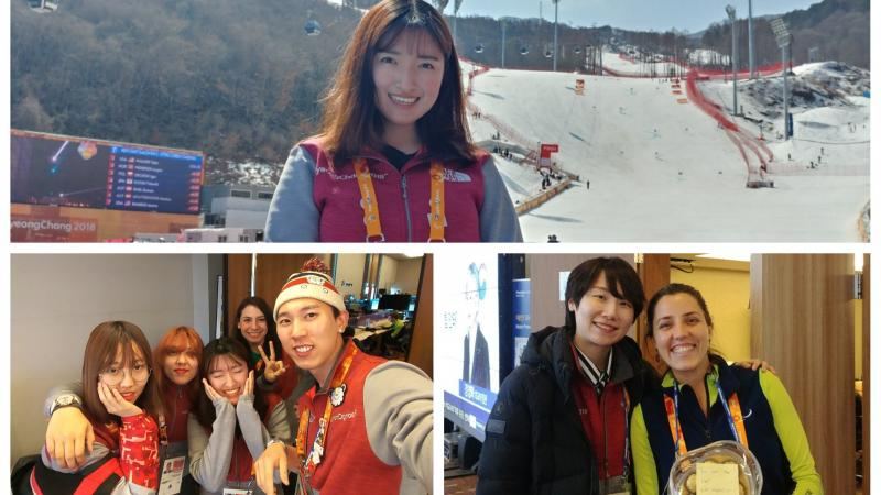 a group of volunteers at PyeongChang 2018