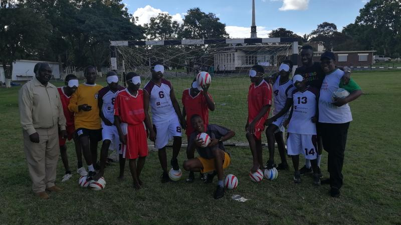 Zimbabwe become latest African country to join blind football family in 2018