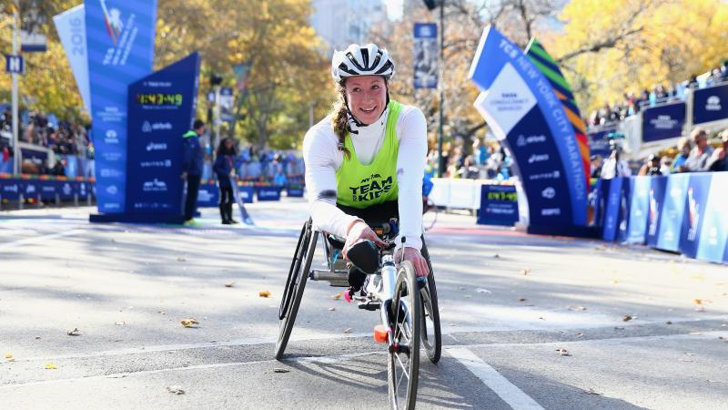US wheelchair racer Tatyana McFadden