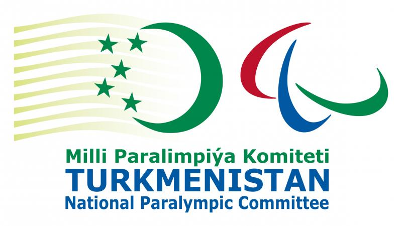 Logo National Paralympic Committee of Turkmenistan