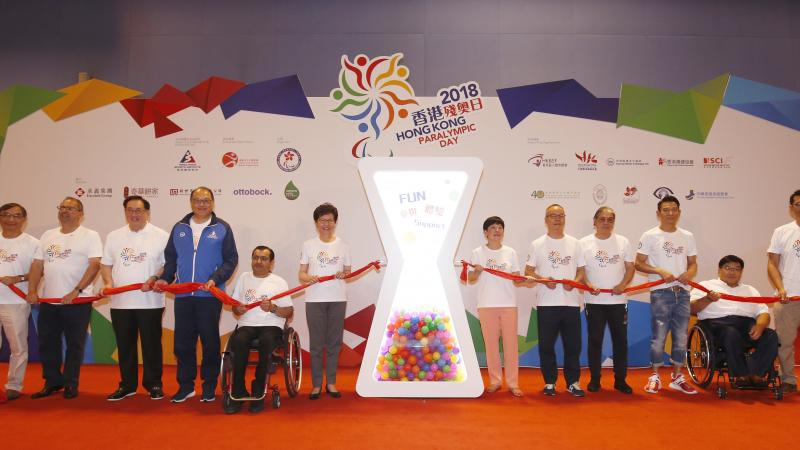Over 1,200 participants took part in Para sport exhibitions at the second Hong Kong Paralympic Day