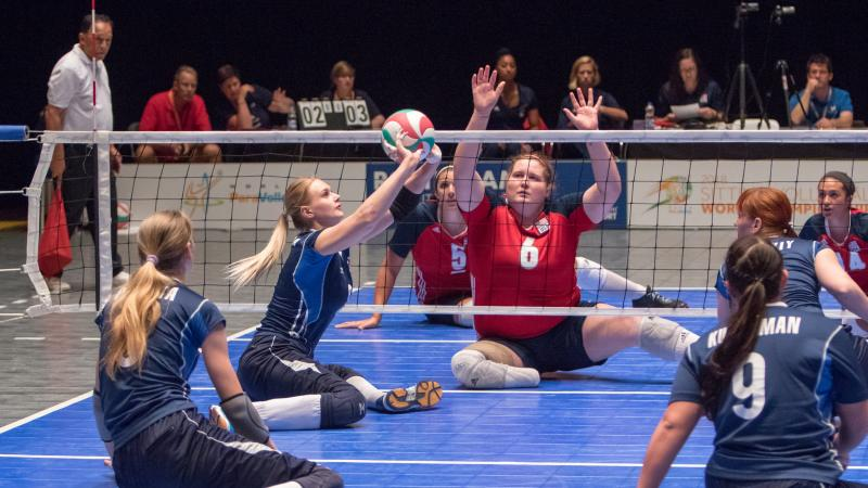 Russia's women stunned USA to win the 2018 World ParaVolley Sitting Volleyball Women's World Championship
