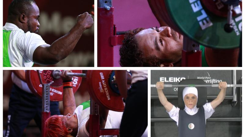 Roland Ezuruike, Sherif Osman, Bose Omolayo and Adra Lamia nominated as 'Best African Powerlifter'