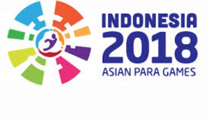 Colorful logo of Indonesia 2018 Asian Para Games