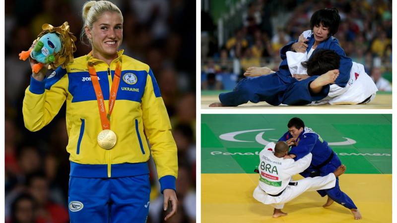 Inna Cherniak, Antonio Tenorio and Carmen Brussig are three judokas to look out for at Odivelas 2018