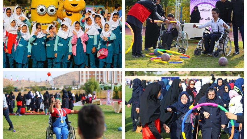 Sixty thousand students with impairment participated in Para sports exhibitions