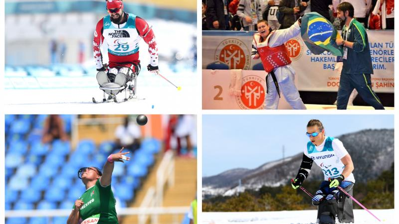 Four nominees for Americas Athlete of February 2019