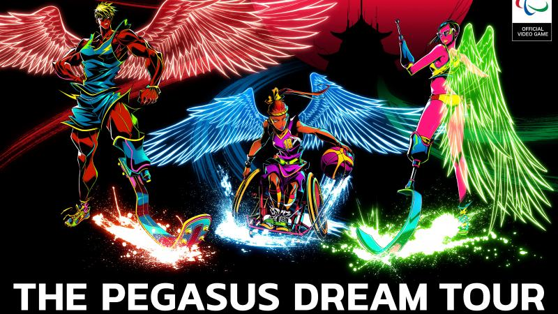 the official video game of the IPC - The Pegasus Dream Tour