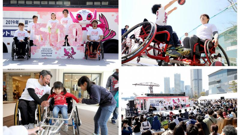 Tokyo 2020 celebrates 500 days to go until the Paralympic Games