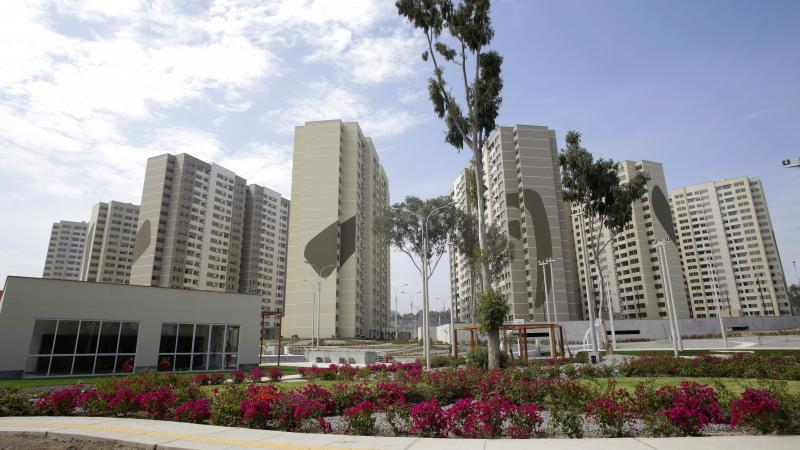 The Parapan American Village will become the biggest accessible housing complex in Peru