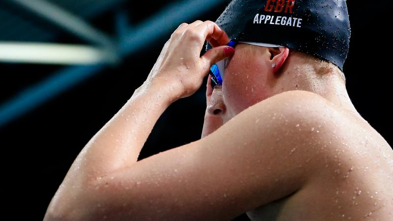 Jessica-Jane Applegate will be one of the top British names at London 2019