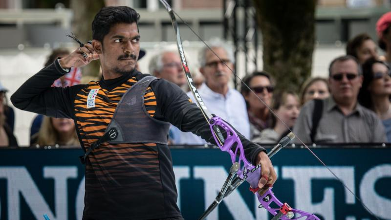 Suresh Selvathamby of Malaysia became the new world champion in the recurve men's open category