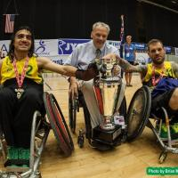 No. 6 Australia crowned wheelchair rugby champions for the first time