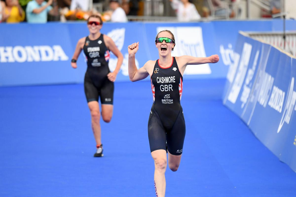 Lausanne 2019: Para triathlon world champions crowned   International Paralympic Committee