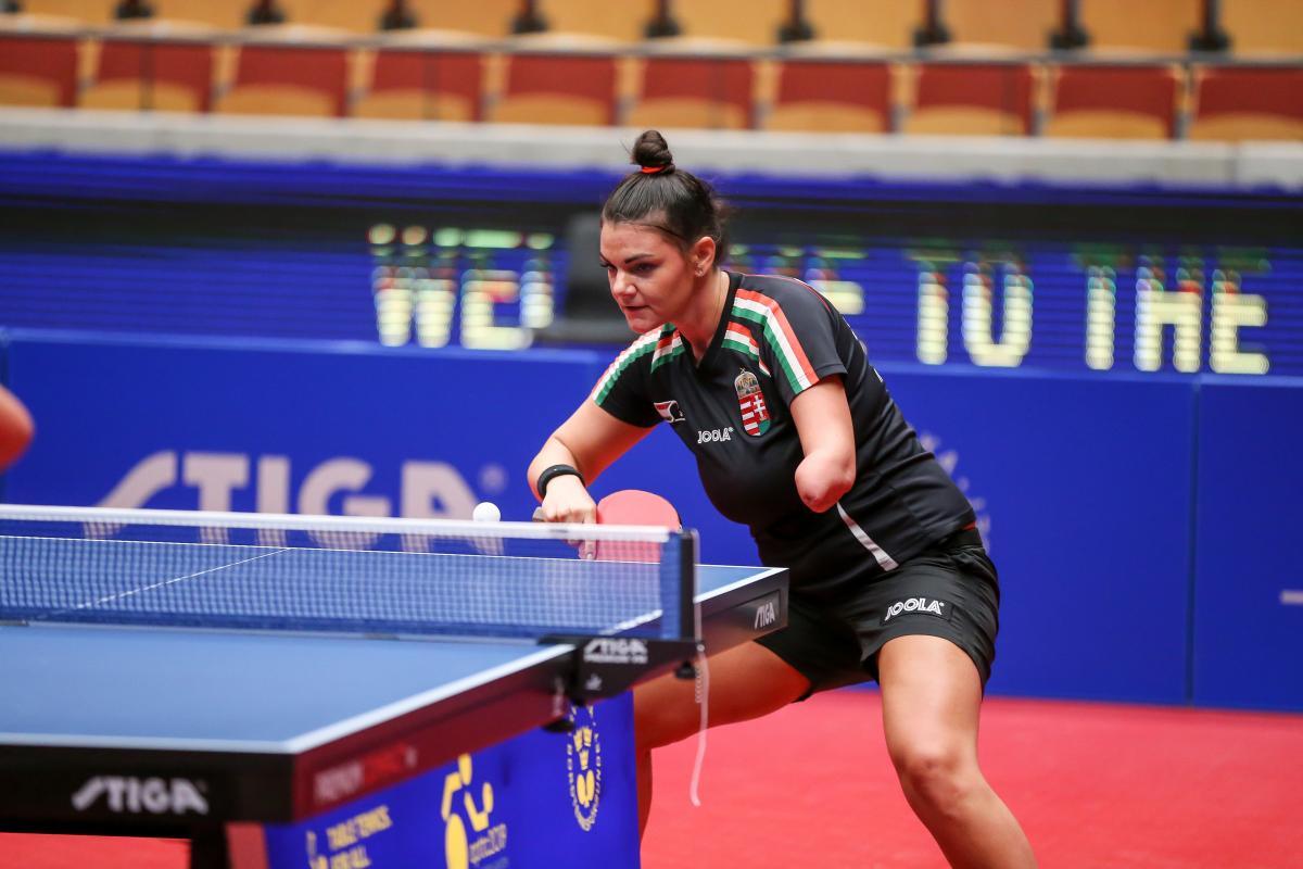 Para Table Tennis Gives Alexa Szvitacs Newfound Hope International Paralympic Committee