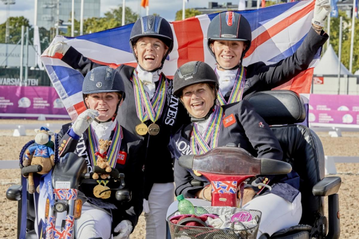 Great Britain remain unbeaten in major Para equestrian competition after winning the European title in Gothenburg.
