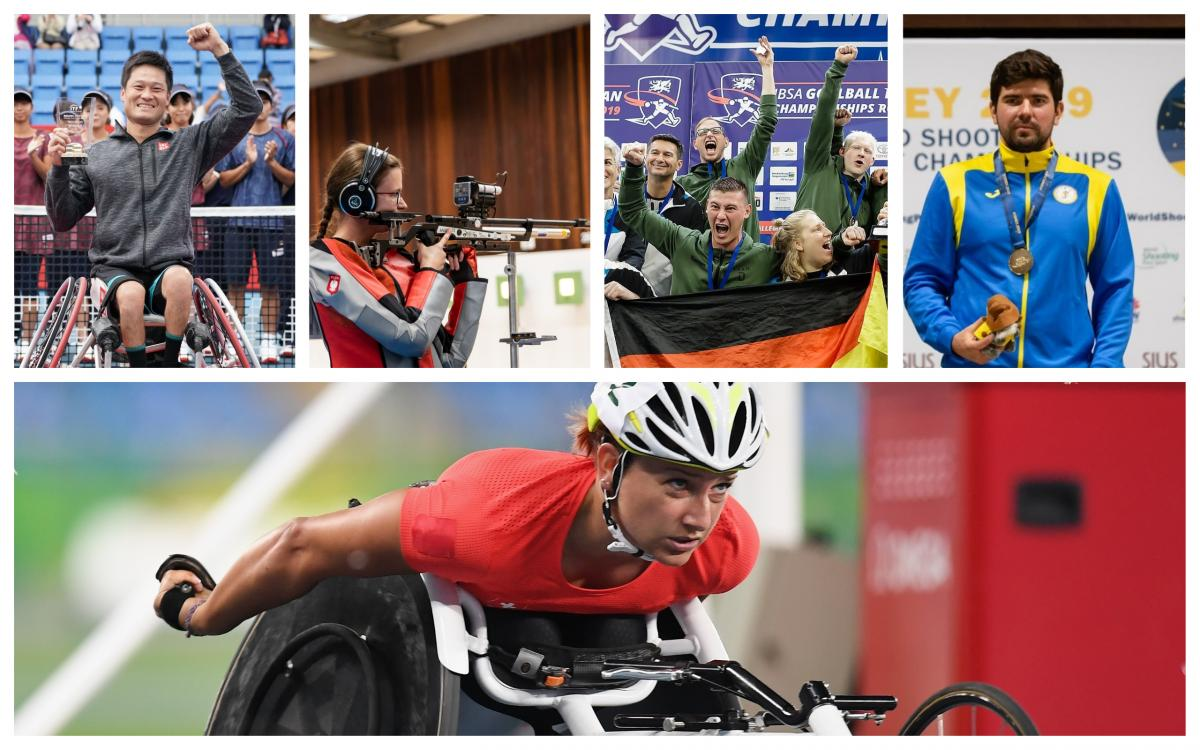 Five nominees for Allianz Athlete of the Month