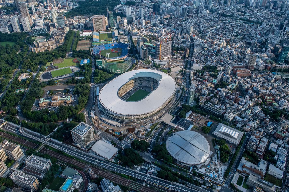 Tokyo 2020 Olympic Stadium