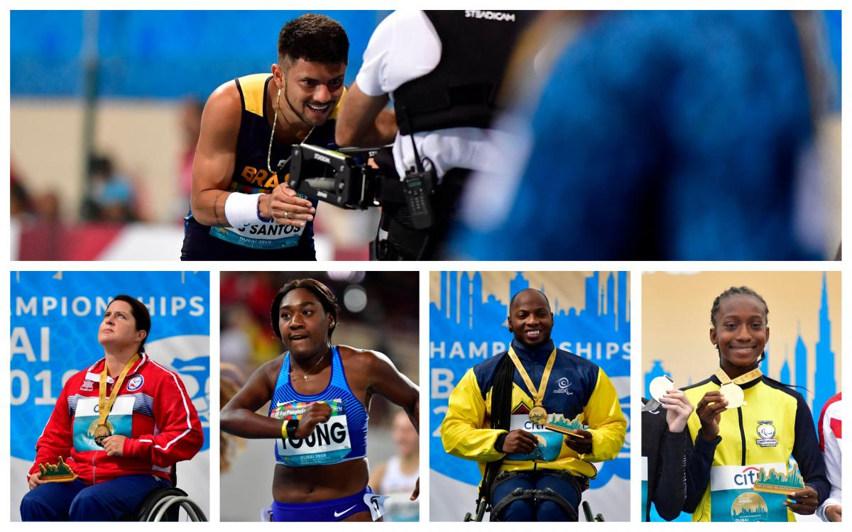 Photos of five standout athletes from Dubai 2019