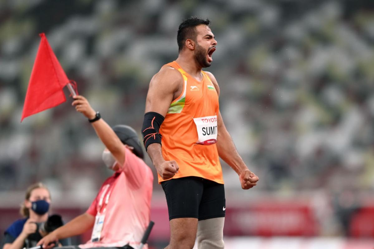 India's Sumit Antil aims to compete in Olympics and Paralympics in ...