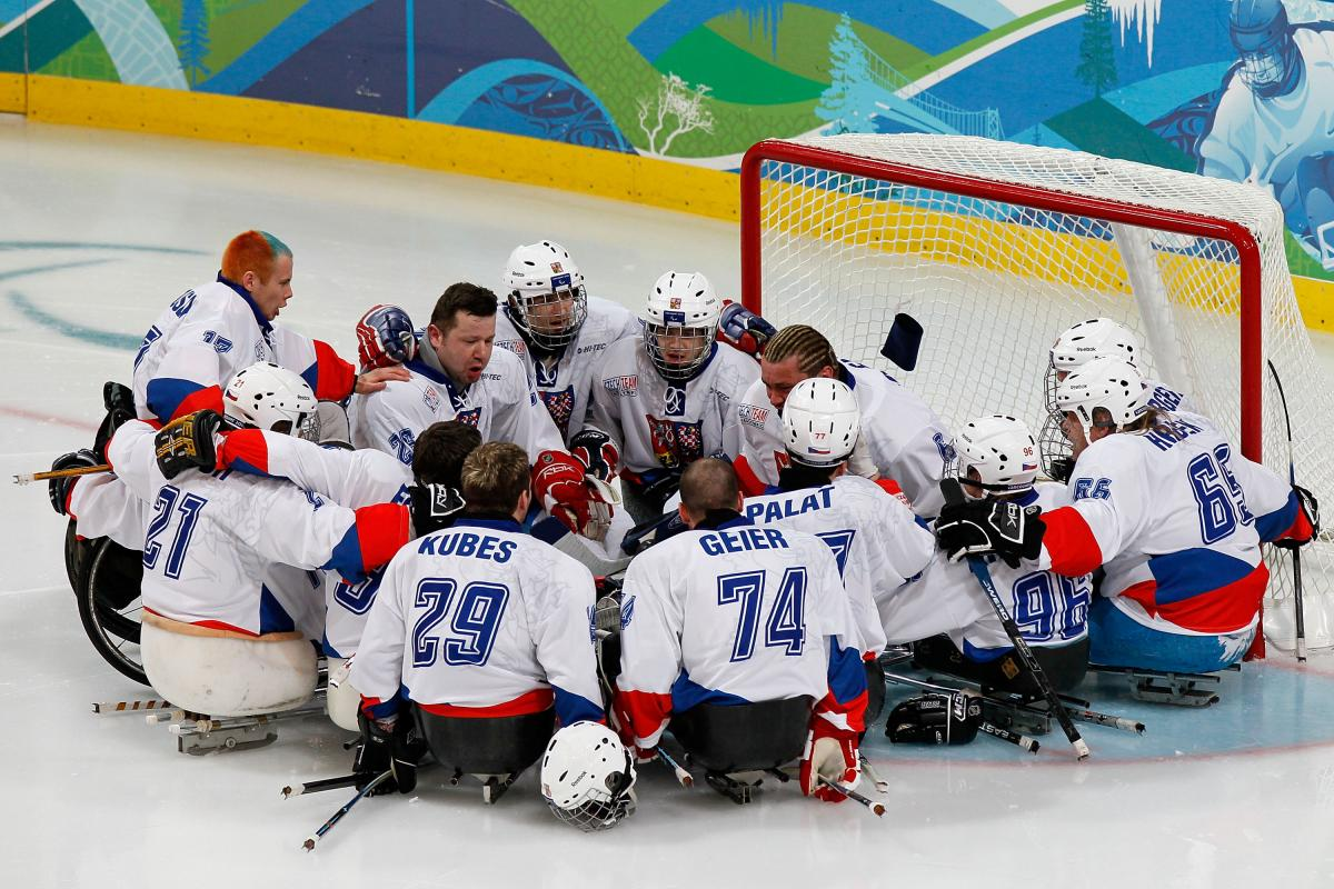 Czech Republic Ice Sledge Hockey Team