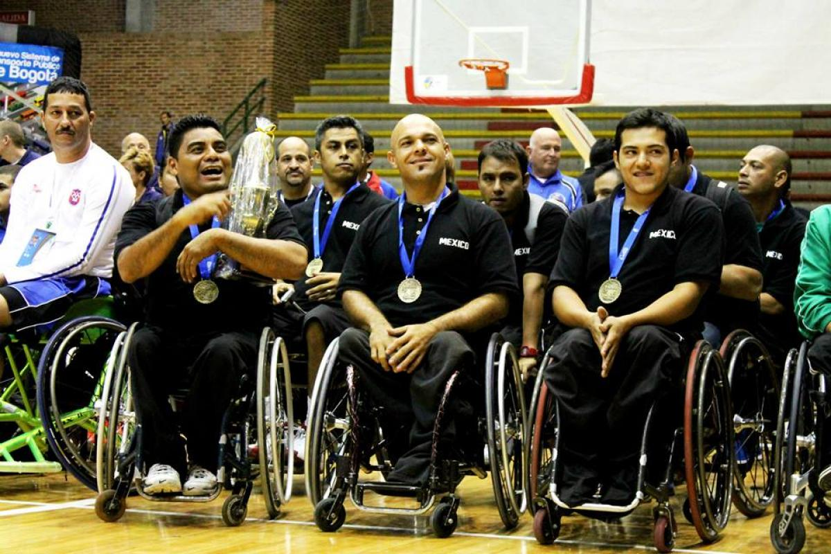 Mexico wheelchair basketball