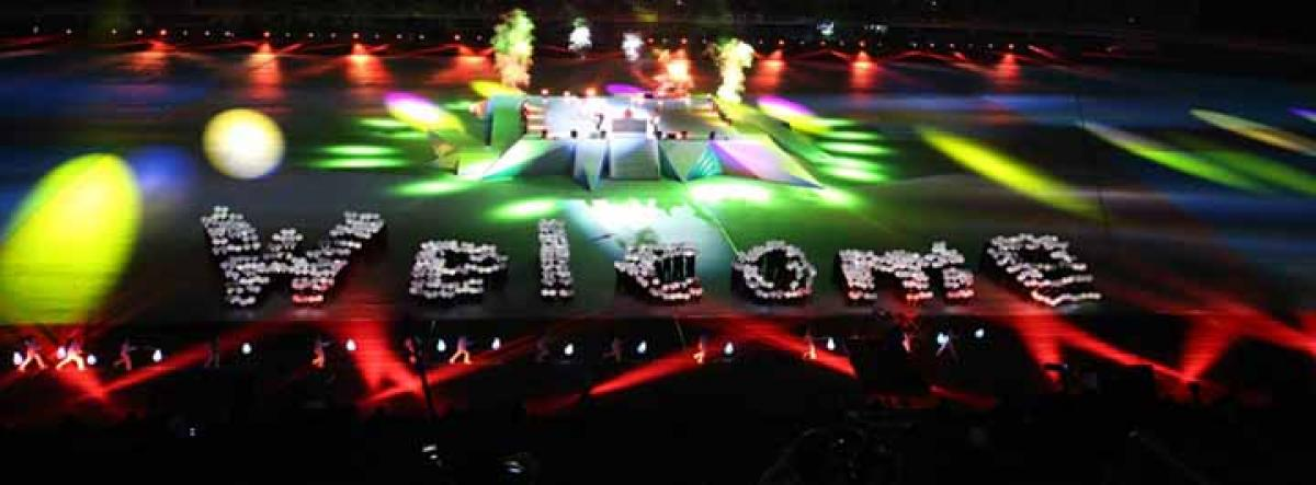 The Incheon 2014 Asian Para Games Opening Ceremony took place on 18 October 2014.