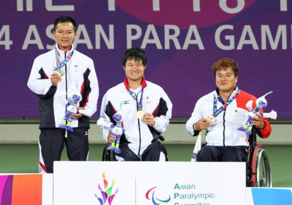 Shingo Kunieda Incheon Asian Para Games